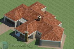 5 Bedroom Single Storey House Plan For Sale NethouseplansNethouseplans 6 Bedroom House Plans, Garage House Plans, Ranch House Plans, Craftsman House Plans, House Floor Plans, House Plans For Sale, House Plan With Loft, House Plans With Photos, Single Storey House Plans