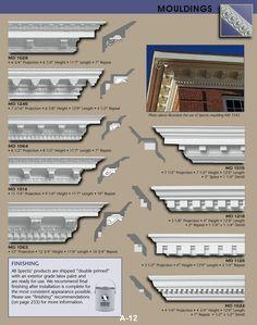 Dentil Mouldings | Architectural Resources | Pinterest | Moldings ...