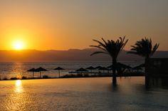 Sunset from Radisson Blu in Tala Bay, Aqaba Jordan