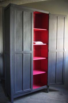 Elise l'armoire parisienne colorée - petite belette