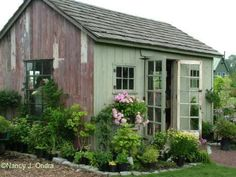 9 Vigorous Clever Tips: Garden Tool Organization Awesome garden tool raised beds.Garden Tool Shed. Garden Structures, Outdoor Structures, Workshop Shed, Workshop Studio, Plan Garage, Garden Tool Organization, Backyard Buildings, My Pool, Potting Sheds