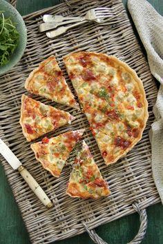 Food and Cook by trotamundos » Quiche de alcafochas, salami y queso rulo, y mi aportación para Whole Kitchen