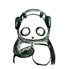 【一日一大熊猫】 2015.5.7 音楽は少しずつCD等のメディアから データ扱いになってきて、 ついには端末に音楽データを入れるのではなく、 サーバ上にあるデータを聴きに行く形になってきたね。 便利なんだけどこれで製作者にお金が入るんかなぁ。。。 #音楽 #パンダ http://osaru-panda.jimdo.com