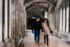 A snowy winter engagement session for two mid-town lovers at the gorgeous Knox College in Toronto. Check out this Knox College Engagement Session! Winter Engagement, Engagement Session, Big Day, How To Memorize Things, College, Romantic, In This Moment, Photography, University