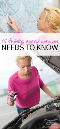 15 Things Every Woman Needs to Know How to Do!