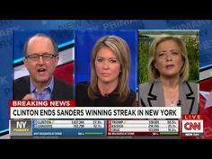 CNN's Brooke Baldwin and Hilary Rosen Go At It With Hostile Bernie Sanders Lifer - YouTube Brooke Baldwin, Living In New York, Bernie Sanders, Best Memes, Youtube, Youtubers, Youtube Movies
