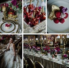 Dramatic Jewel Tones - Wedluxe Feature - MIMMO & CO | Photography | Film | Documentary | Lifestyle | Style Shoot | Wedding Details | Creative Shoot | Toronto Weddings | Cake and Desserts |