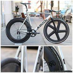 Fixed Gear Bike @Aventonbikes Mataro Low