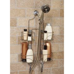 #Bath #Shower #Accessories #Zenith #shopping #sofiprice Zenith E7446SS Expandable Shower Caddy for Hand Held Shower - https://sofiprice.com/product/zenith-e7446ss-expandable-shower-caddy-for-hand-held-shower-58115626.html