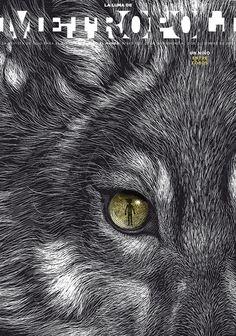Cover illustrations for METROPOLI Magazine by Ricardo Martinez on Behance   #illustration