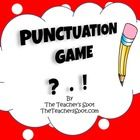 Punctuate sentence (or complete idea) with a period, question mark or exclamation mark.  Place one of the erasers at the end of each sentence/ penc...