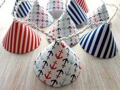 """Lichterketten - Lichterkette """"Maritim"""" Anker & St... - ein Designerstück von youmia bei DaWanda Nautical Party, Fairy Lights, Interior Inspiration, Diy Furniture, Kids Toys, Upcycle, Crafty, Etsy, Room"""