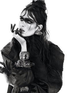 Alvaro Beamud Cortes - Maria Palm - hair Manu Fernández - makeup Jose Belmonte - stylist Cristina Perez-Hernando