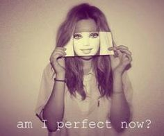 """""""am i perfect now, like a barbie?"""" Barbie is a doll, fake You are human, real Don't fake your face for the fakes You are only human You are only real Perfect Woman, Im Not Perfect, Nobodys Perfect, Perfect People, Perfect Body, Image Beautiful, Fotografie Portraits, Identity Art, Hidden Identity"""