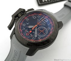 Graham Chronofighter Oversize SUPERLIGHT CARBON Chronograph Limited Edition  #Graham #LuxuryDressStyles