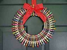 Great decoration for teachers or crafty people!