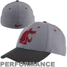 new styles 84fa0 e8c2e Nike Washington State Cougars Fan Seasonal Legacy 91 Swoosh Performance Flex  Hat  GoCougs My College
