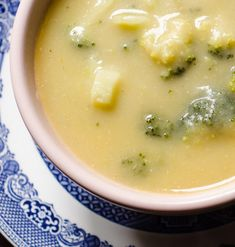 Smokey Broccoli and Leek Soup ~ Everyone likes a hearty broccoli and cheese soup – so why not try this one with a twist? This soup recipe uses potatoes to give it a creamy texture, leeks to add some sweetness and smoked cheddar for a slight perversion. Easy to make ahead.