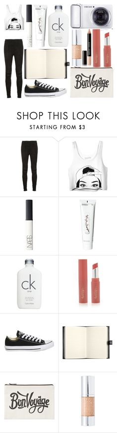 """""""Sans titre #6034"""" by crazymoustik ❤ liked on Polyvore featuring Yves Saint Laurent, NARS Cosmetics, Korres, Calvin Klein, Samsung, Forever 21, Topshop, Bentley, ALPHABET BAGS and 100% Pure"""