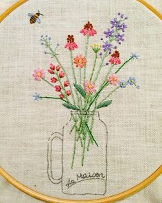 A blog dedicated to hand embroidery. I started this blog to keep myself inspired and my fingers stitching. Perhaps others will be tempted to pick up a needle and thread and express themselves. Any...