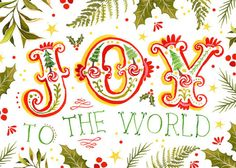 Joy to the World + spreading Christmas cheer Christmas Time Is Here, Holiday Time, Little Christmas, All Things Christmas, Christmas Quotes, Christmas Art, Winter Christmas, Vintage Christmas, Christmas Sentiments