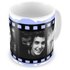 Caneca Porcelana Personalizada Filme Fotográfico Com 3 Fotos - ArtePress   Brindes Personalizados, Canecas, Copos, Xícaras