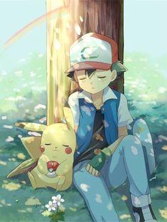 Ash and Pikachu ^^❤ my favourite Pokemon and trainer Pikachu Pikachu, Ash Pokemon, Pokemon Manga, Pokemon Fan Art, Pokemon Zelda, Pokemon Legal, Pokemon Film, Lucario Pokemon, Pokemon Movies