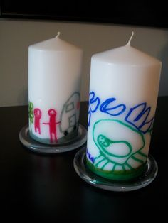 Personalized Candles. Possible gift for Families? One per student?