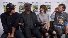 Norman Reedus, Lennie James, Chandler Riggs, and showrunner Scott M. Gimple talk about the odds of Daryl showering (on screen!), Morgan's battle with Rick, and Carol's badassery.