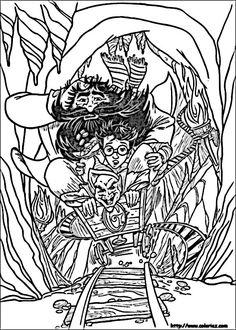 coloriage dessins harry potter 57