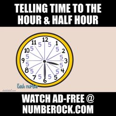 Gerry will teach you all about telling time to the nearest hour and half-hour, and his friends will rap and sing about the difference between AM and PM in this song your students won't soon forget! #tellingtime #1stGrade #2ndGrade