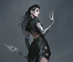 Beautiful Science Fiction, Fantasy and Horror art from all over the world. Character Creation, Character Concept, Character Art, Concept Art, Character Design, Dark Fantasy, Fantasy Girl, Dnd Characters, Fantasy Characters