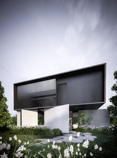 minimalism and architecture Coupes Architecture, Box Architecture, Minimalist Architecture, Residential Architecture, Contemporary Architecture, Industrial Architecture, Contemporary Design, Brighton Houses, Facade House