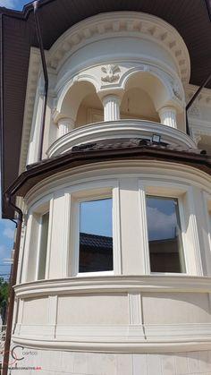 Proiect Casa Rezidentiala zona Podul Grant, Bucuresti – Profile Decorative Design Case, Windows And Doors, Profile, Exterior, Mirror, House, Decor, User Profile, Decoration