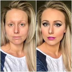 The Flawless 4 Collection before and after. All Younique products used. Find me on Facebook, Younique By Rachele (Rachele Lantz) Click me link to order your amazing products.