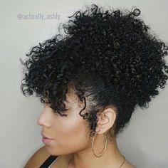 Curly Updo  @actually_ashly #kinkychicks #kinky_chicks1 #naturalhair by kinky_chicks1                                                                                                                                                                                 More