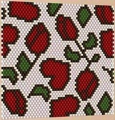 pattern-beaded-gift-1 can be used for many aplications : Lighter cover, beaded bags, bracelets etc