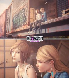 Life is Strange: Before the Storm by Baka-neearts on DeviantArt Life Is Strange Fanart, Life Is Strange 3, Life Is Like, Strange Art, Yuri, Dontnod Entertainment, Arcadia Bay, Cry Now, Just Video
