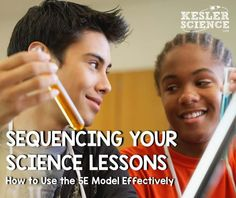 Sequencing Your Science Lessons - How to Create Effective Science Lessons Using the Model 7th Grade Science, Primary Science, Science Notes, Science Classroom, Teaching Science, Science Education, Classroom Ideas, Classroom Organisation, Science Fun