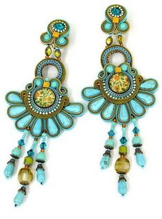 Beads Perles: UNA MIRADA ATRÁS - PARTE XII - Dori Csengeri - Soutache