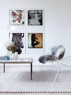 Art deco, decoration, charles & ray eames, scandinavian home, interior styling Interior Styling, Interior Decorating, Decorating Ideas, Nordic Interior, Modern Interior, Interior Office, Apartment Interior, Apartment Design, Art Deco
