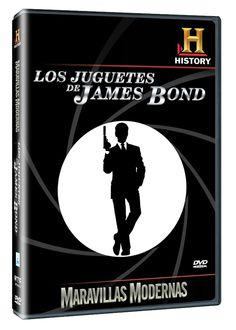 Diseño publicitario de DVD's - Stop Diseño Gráfico - Diseño de Los juguetes de James Bond - History Channel.