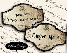 Hey, I found this really awesome Etsy listing at https://www.etsy.com/listing/209970543/harry-potter-candy-jar-bottle-labels