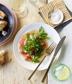 Tomato and herb tarts