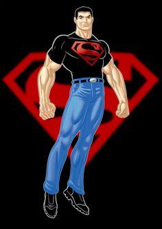 Superboy Conner Kent by Thuddleston.deviantart.com on @deviantART