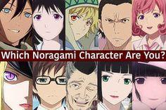 "I got Hiyori! Which ""Noragami"" Character Are You?"