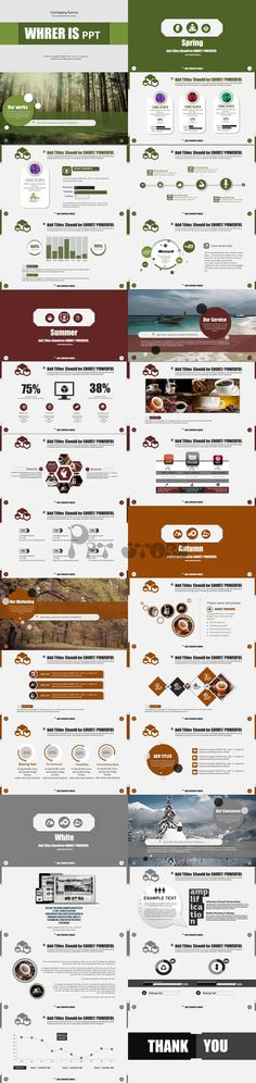 Modern Hexagon Powerpoint Template \u2014 Powerpoint PPTX #info graphics - winter powerpoint template