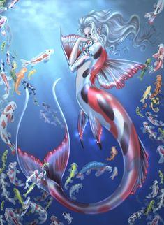 Koi Mermaid
