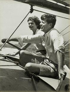 John  Jackie Kennedy