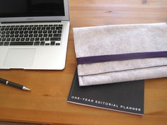 Felt & Fleece Laptop Sleeve: sewing tutorial   She's Got the Notion